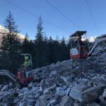 Emergency Rock Slide Project